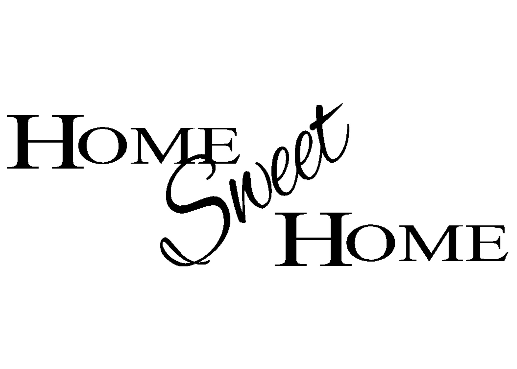 Home Sweet Home Digital Clip Art Houses Clip Art Housewarming