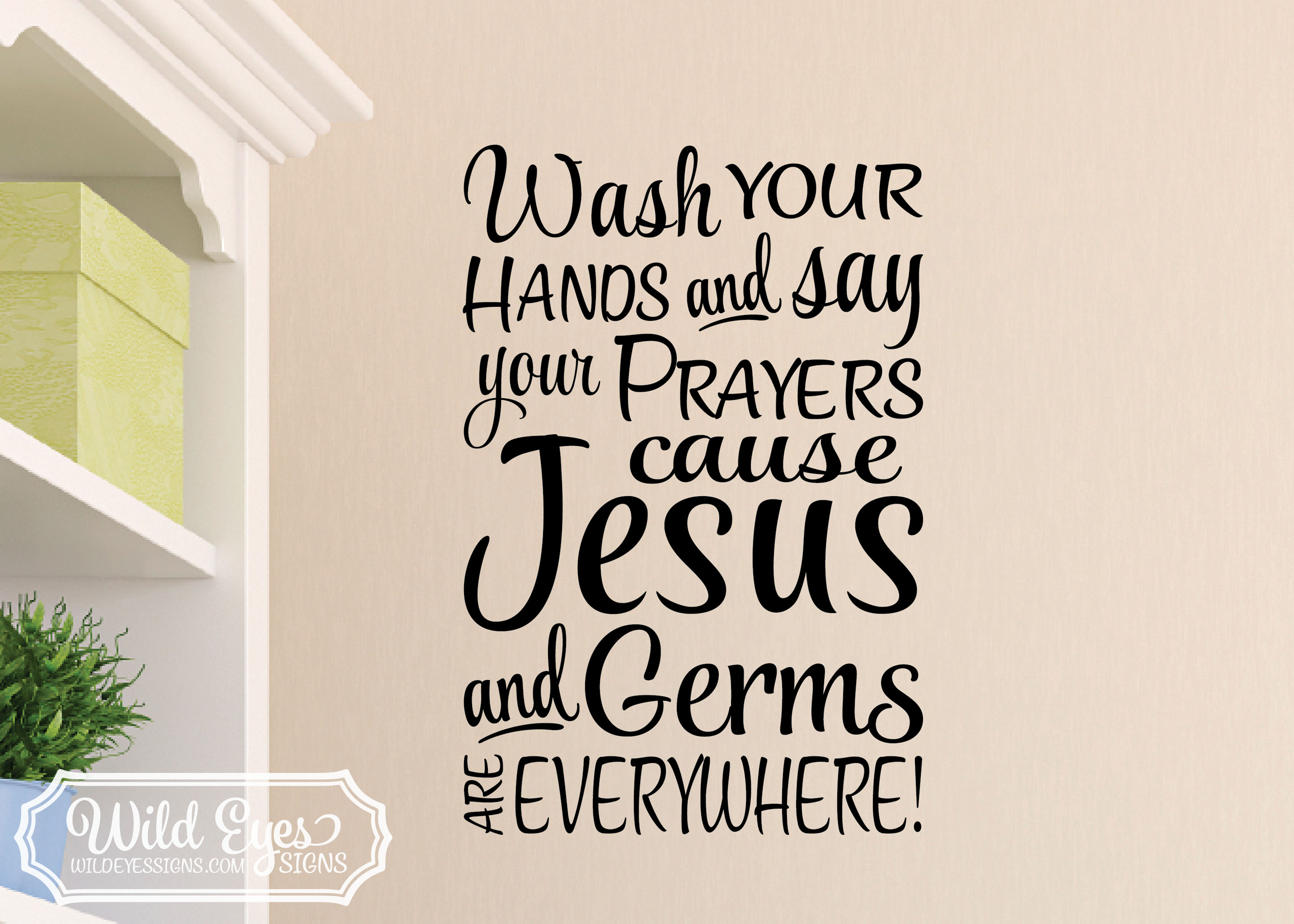 Christian wall decal