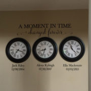 A Moment in time changed forever 1 Vinyl Wall Decal