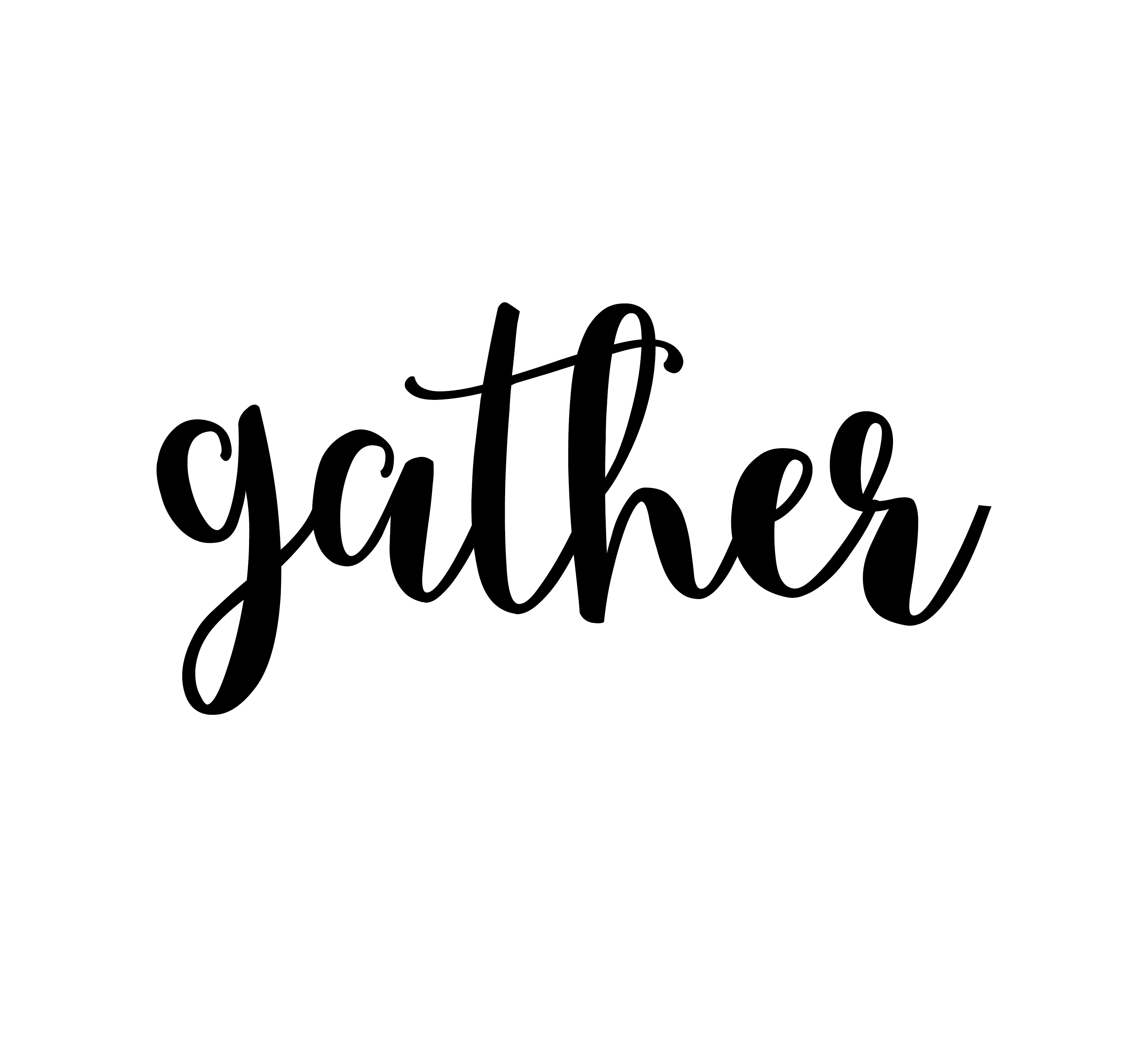 Wall Stickers Shop Gather Vinyl Wall Decal Gather Sign Wall Decor Kitchen
