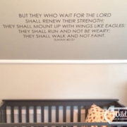 Isaiah 40:31 Vinyl Wall Decal 4