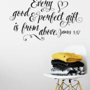 James 1:17 Vinyl Wall Decal 5