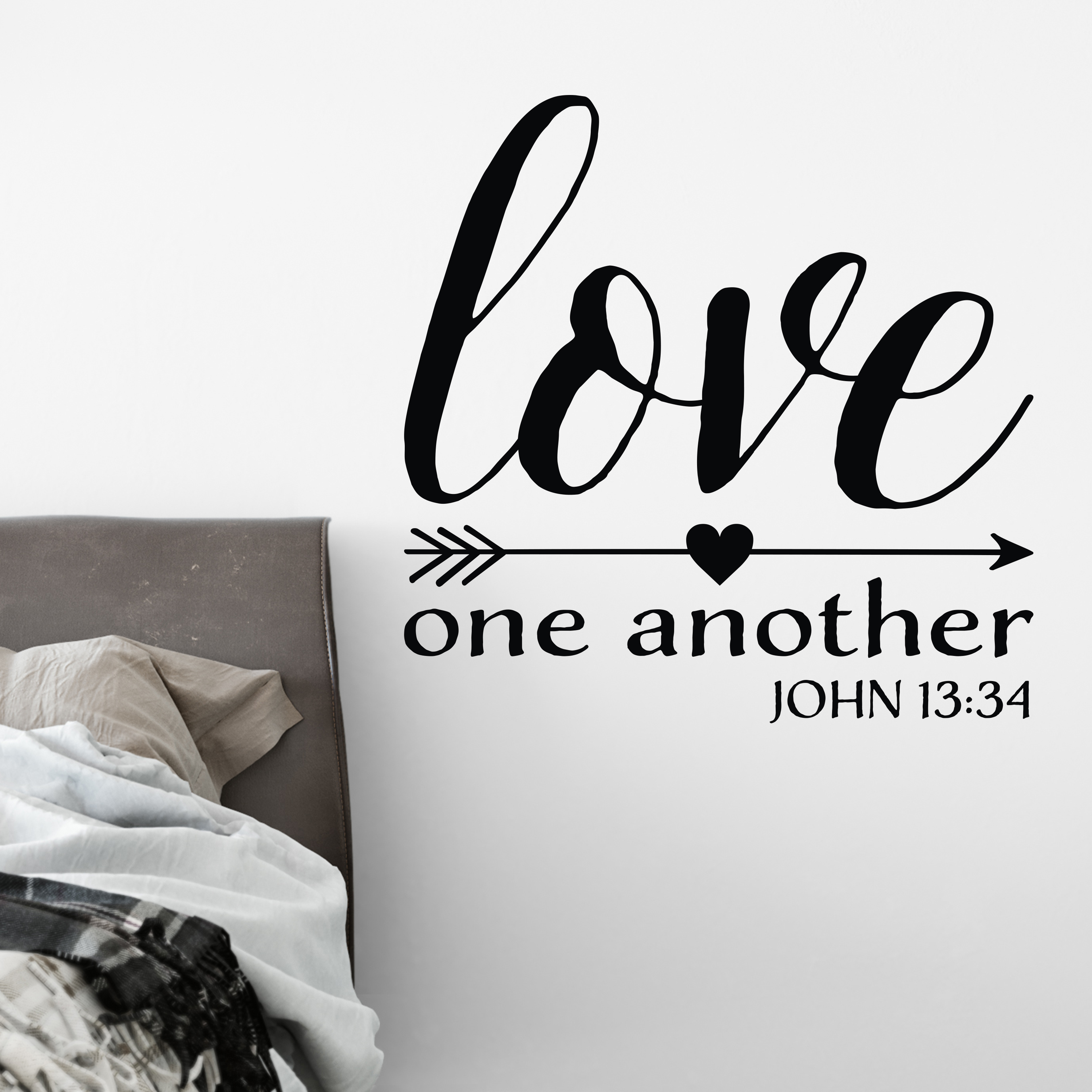 love one for another scripture