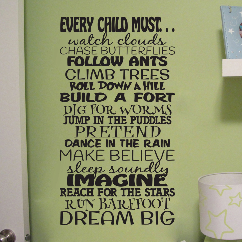 Nursery Vinyl Wall Words Custom Home Decor Nursery Reach For The Stars Wall Decal Quote
