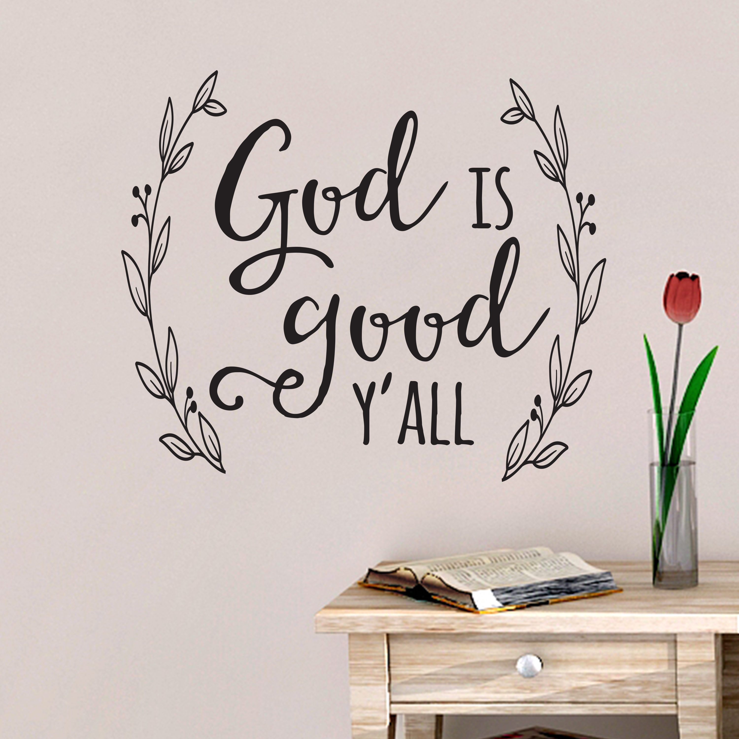 God is Great Vinyl Wall Decal Sticker