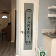 Pantry Sign Vinyl Wall Decal 2