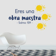 Psalm 139 Salmo 139 Spanish Vinyl Wall Decal