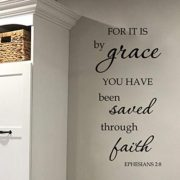 Ephesians 2v8 Vinyl Wall Decal 6