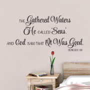 Genesis 1V10 Vinyl Wall Decal