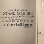 Mark 9v1 Vinyl Wall Decal